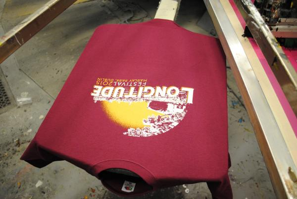 Longitude 2015 for T shirt screen printers for sale