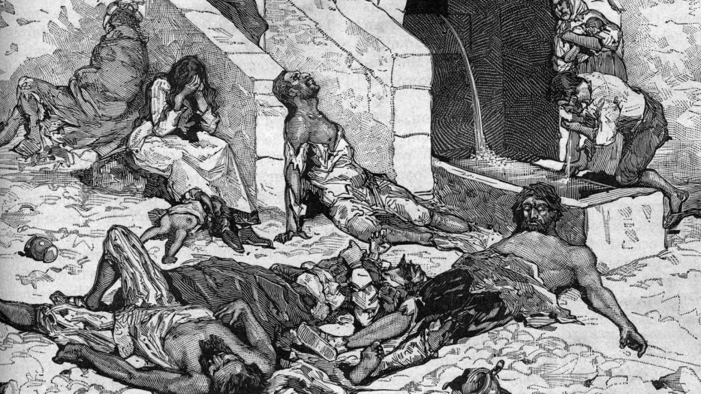 an analysis of the plague and its effects The black death reared its head sporadically in europe over the next few centuries but by 1352, it had essentially loosened its grip europe's population had been hard hit, which had an economic impact the workforce had been destroyed -- farms were abandoned and buildings crumbled the price of.