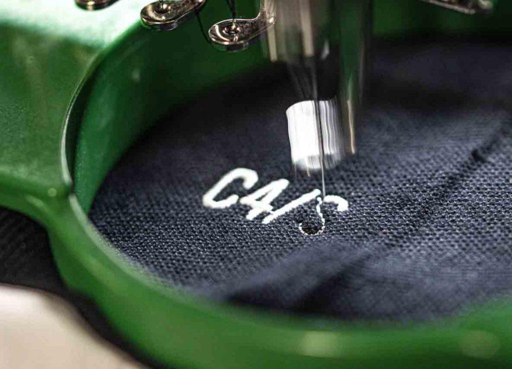 embroidered customised design