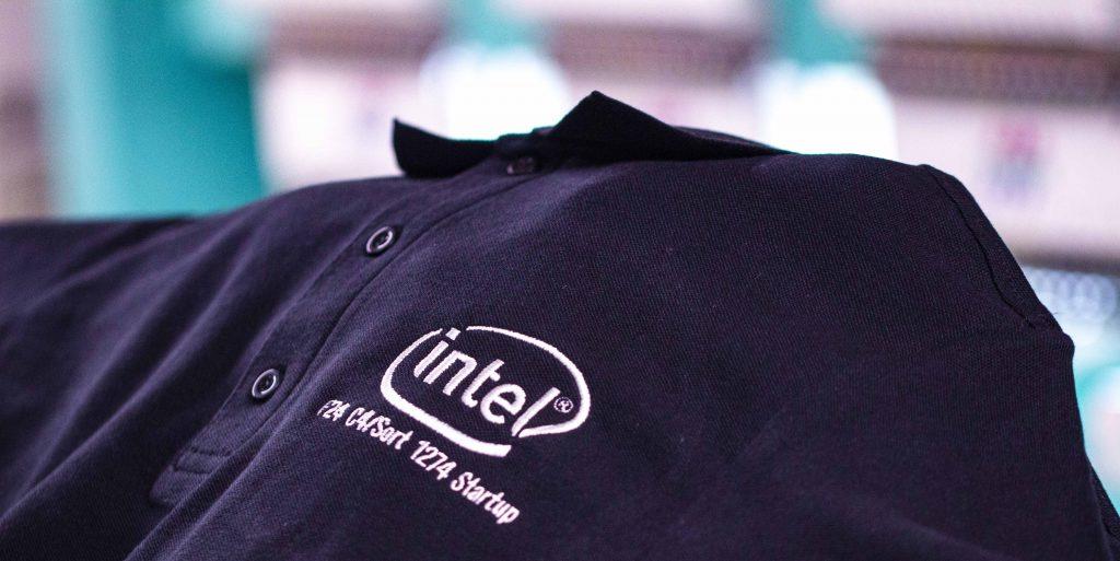 Intel Embroidery design